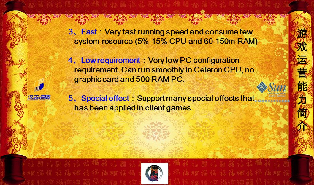 3、Fast:Very fast running speed and consume few system resource (5%-15% CPU and 60-150m RAM)