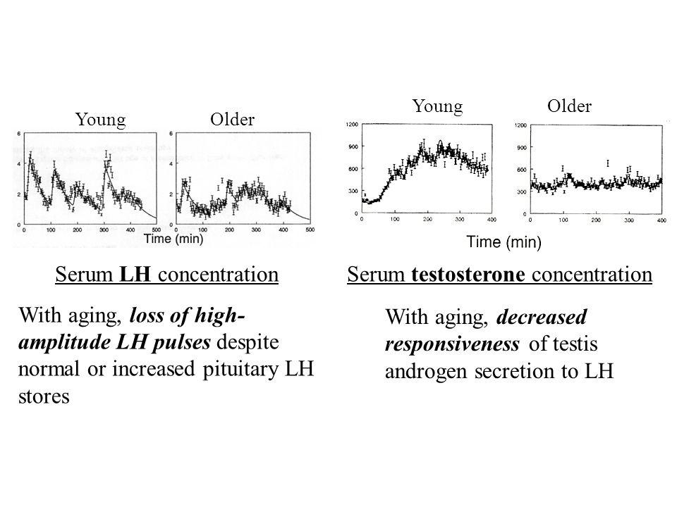 Serum LH concentration