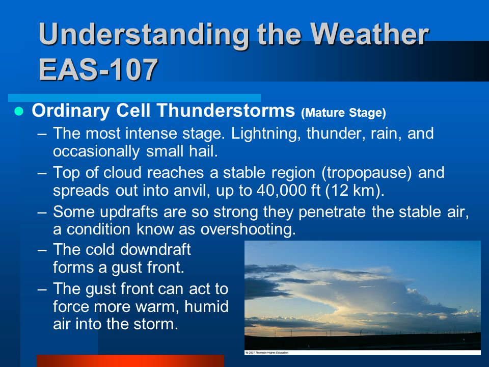 Chapter 14 Thunderstorms and Tornadoes - ppt video online download