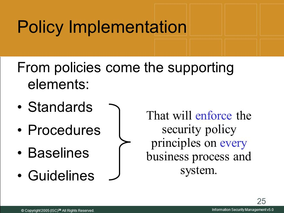 information security policies procedures and standards pdf