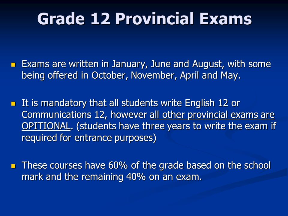 bc provincial exam english 10 essay Welcome to the graduation program exams - information for provincial examinations student samplesstudent samples provide examples of actual student responses that have earned a mark english first peoples 12.