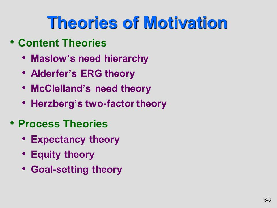 limitations of process and content theories in the workplace Essay on how useful abraham maslow's theory of motivation in understanding and predicting  in understanding and predicting behaviour at  theories content.