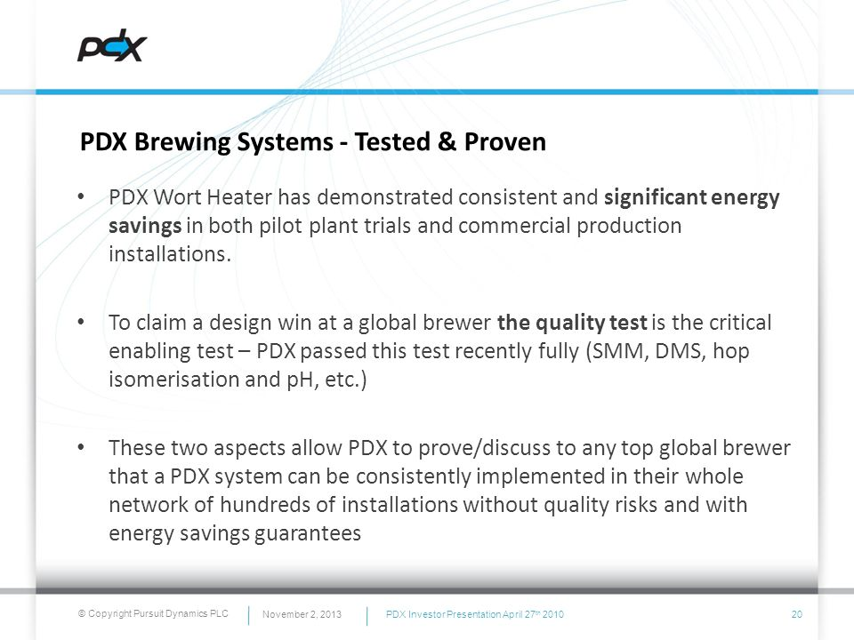 Key PDX® Wort Heater Benefits – PDX First product