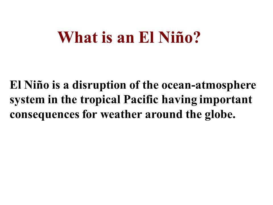 What is an El Niño