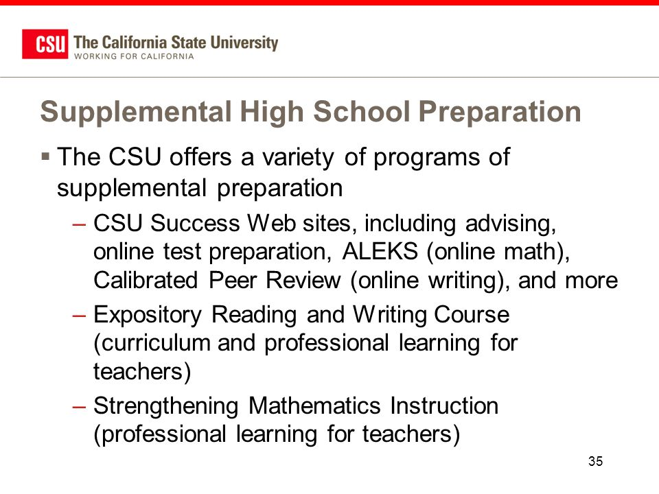 csu expository reading and writing course A waste of time curriculum provided to high schools in california provided by the  csu, meant to torture high school students taking honors and.