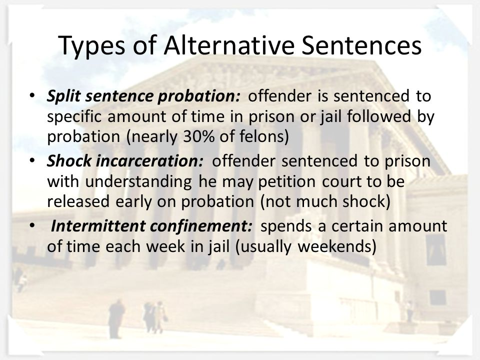 an introduction to the prison alternative in america The effects of prison sentences on  introduction the application of  male and female inmates rate the severity of alternative sanctions compared to prison .