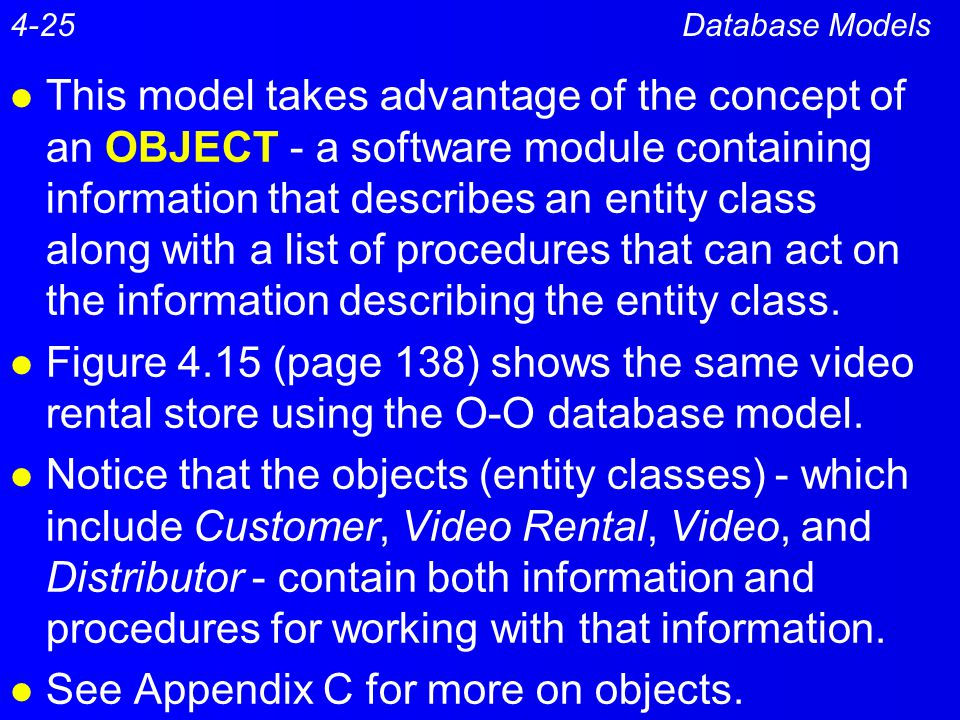See Appendix C for more on objects.