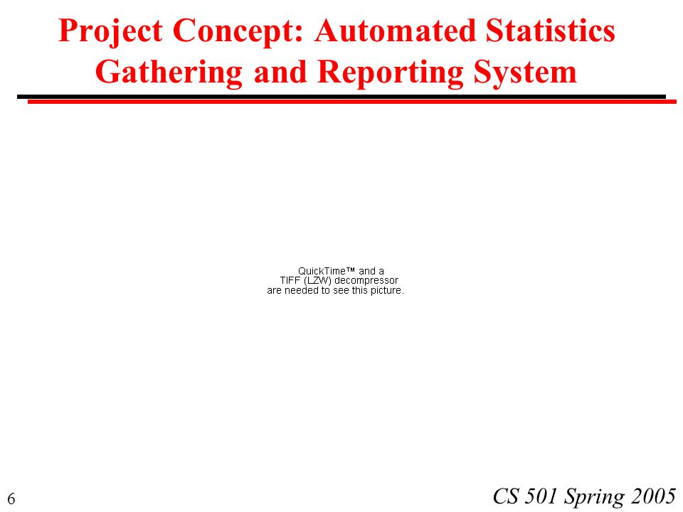 Project Concept: Automated Statistics Gathering and Reporting System