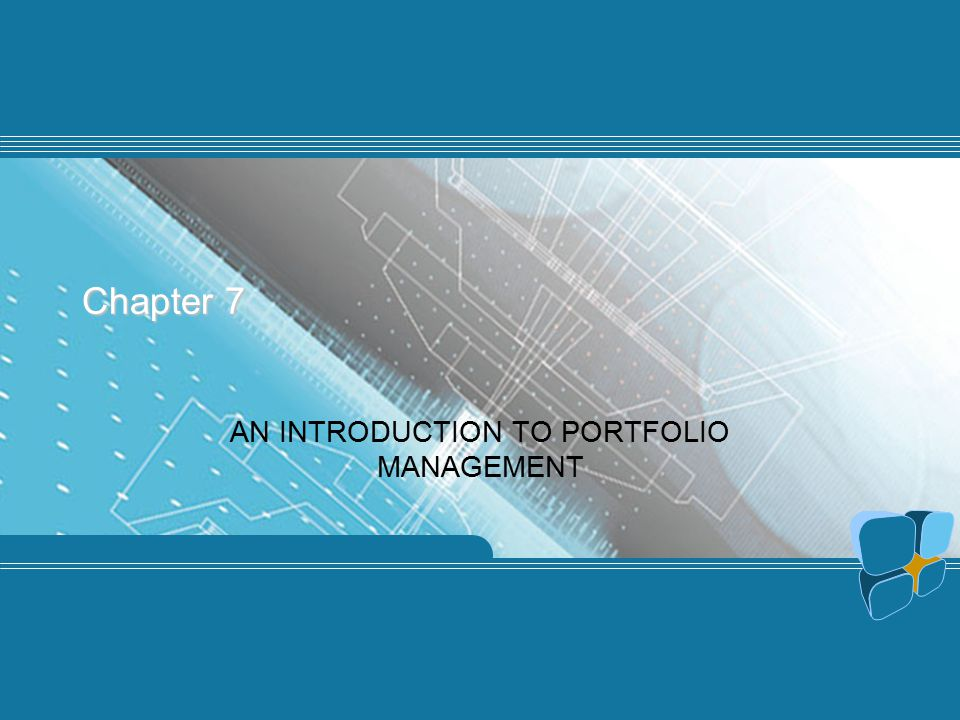 AN INTRODUCTION TO PORTFOLIO MANAGEMENT