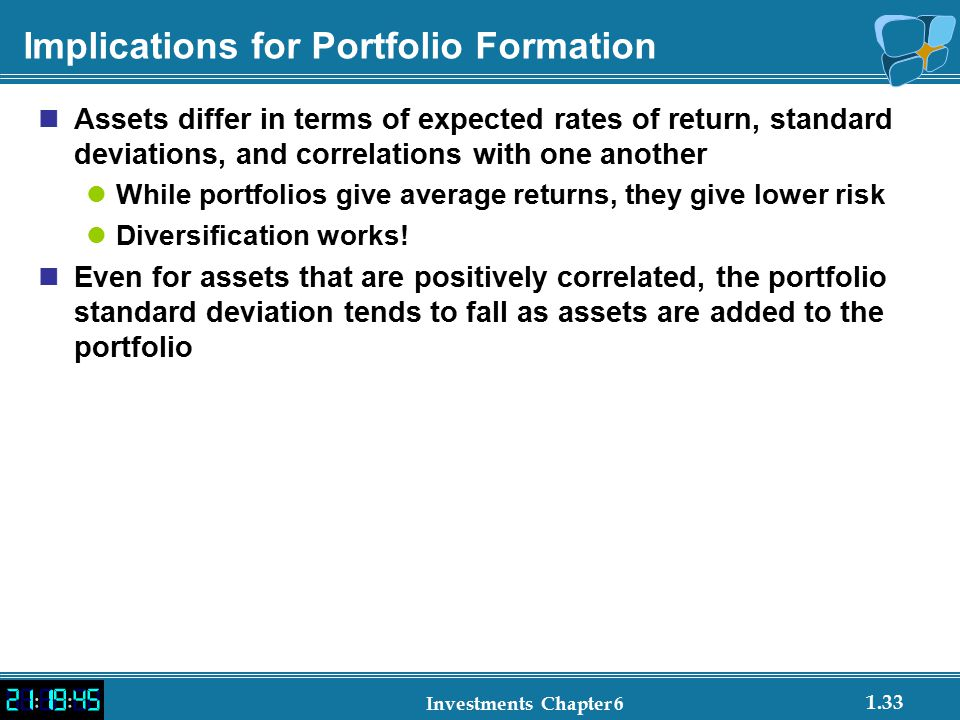 Implications for Portfolio Formation