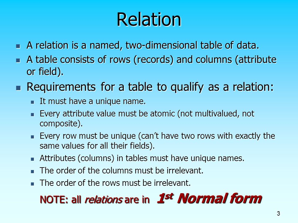 Chapter 4: Logical Database Design and the Relational Model - ppt ...