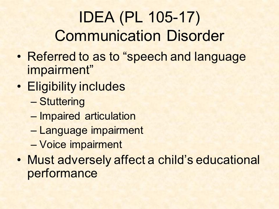 speech disorder dating How do you determine what kind of speech disorder your child has here are four of the most common speech disorders in children.