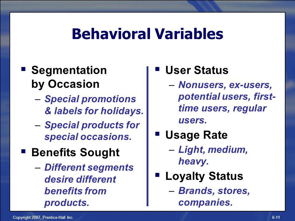 nestle behavioral segmentation Customer behavior - hyundai took the bull by the horns in this bear market and  scored big it used behavioral segmentation to identify what.