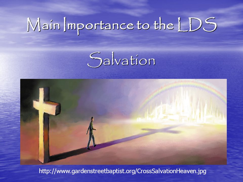 the importance of salvation pdf
