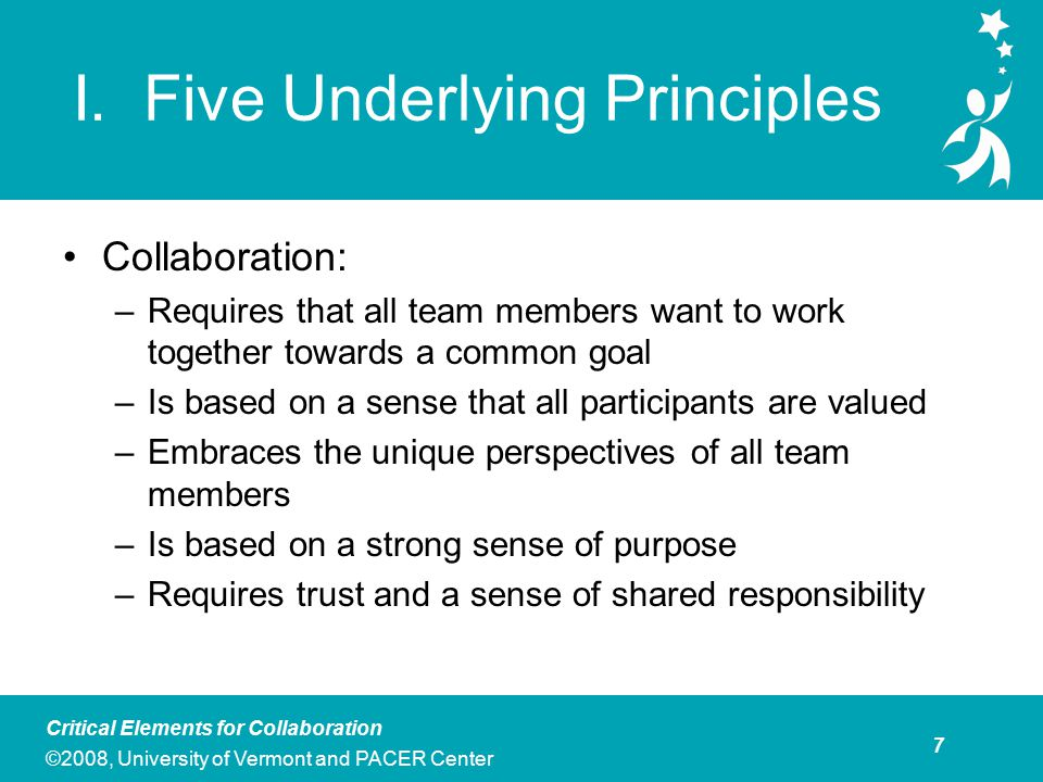 Key Assumptions Teams must value diverse membership and ideas