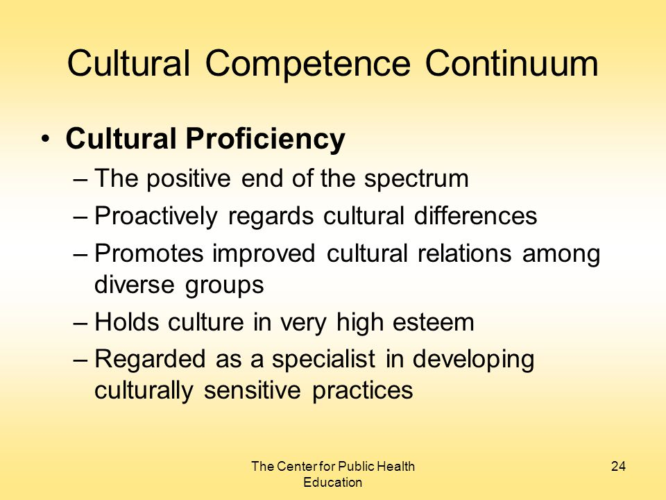 theoretical application to a culturally sensitive Practical strategies for culturally competent evaluation standards and provides strategies to increase cultural competence in their application culture is.