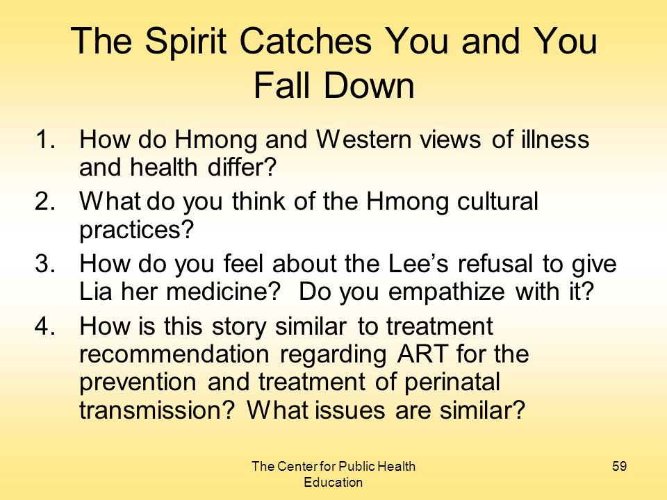 the spirit catches you a look at qdp vs epilepsy essay In her book, the spirit catches you and you fall down, anne fadiman tells the story of lia lee, a young hmong girl whose epilepsy was diagnosed in merced, california.