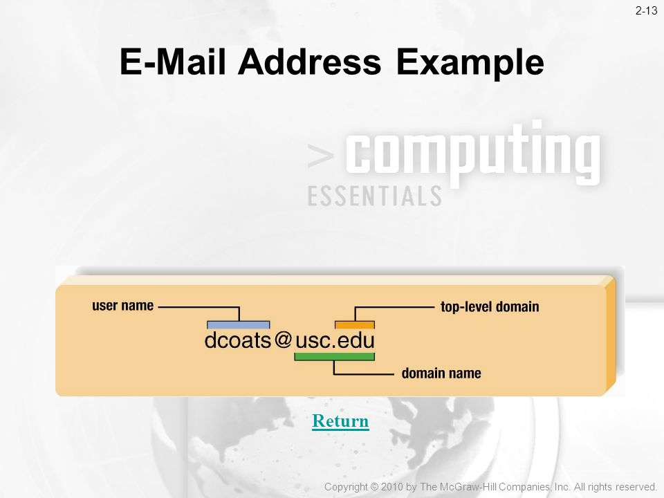 Address Example