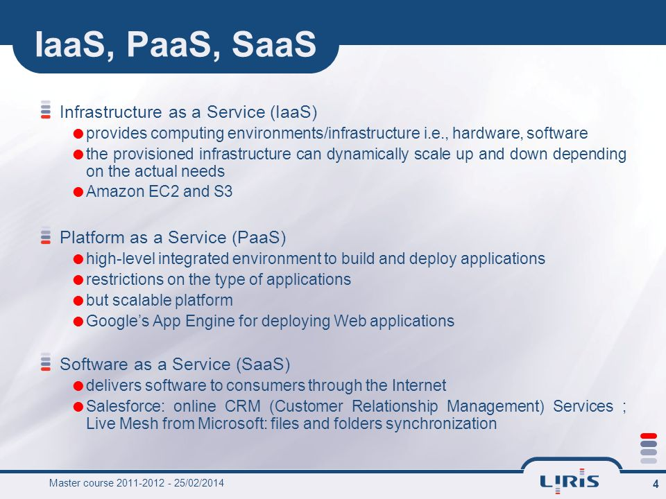 IaaS, PaaS, SaaS Infrastructure as a Service (IaaS)