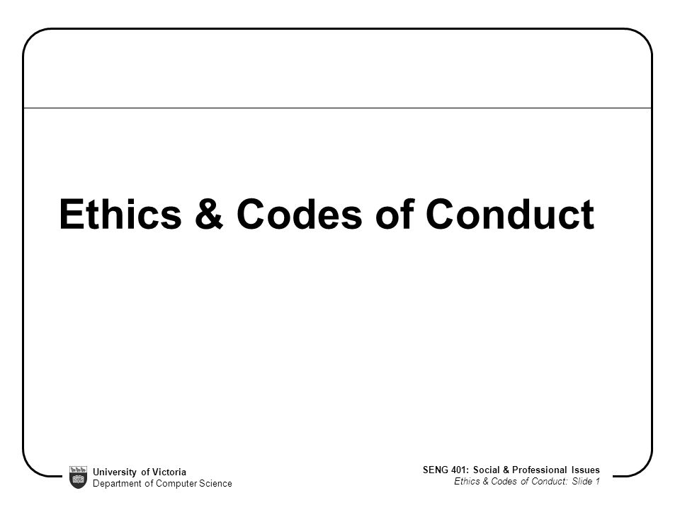 code of ethics and code of conduct pdf
