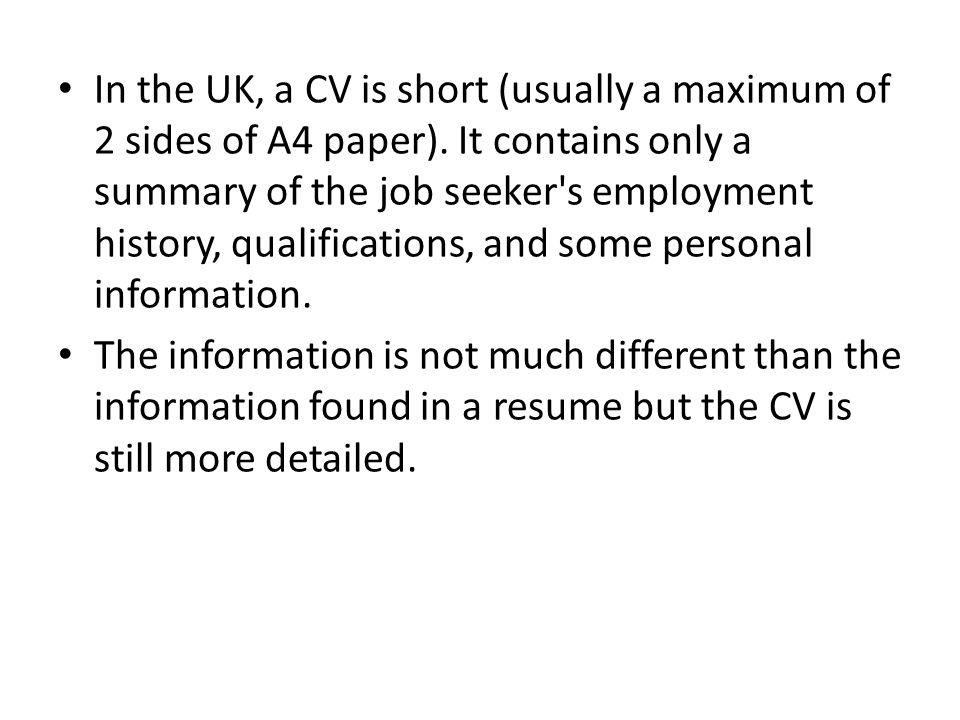 stunning how is a cv different than a resume images simple