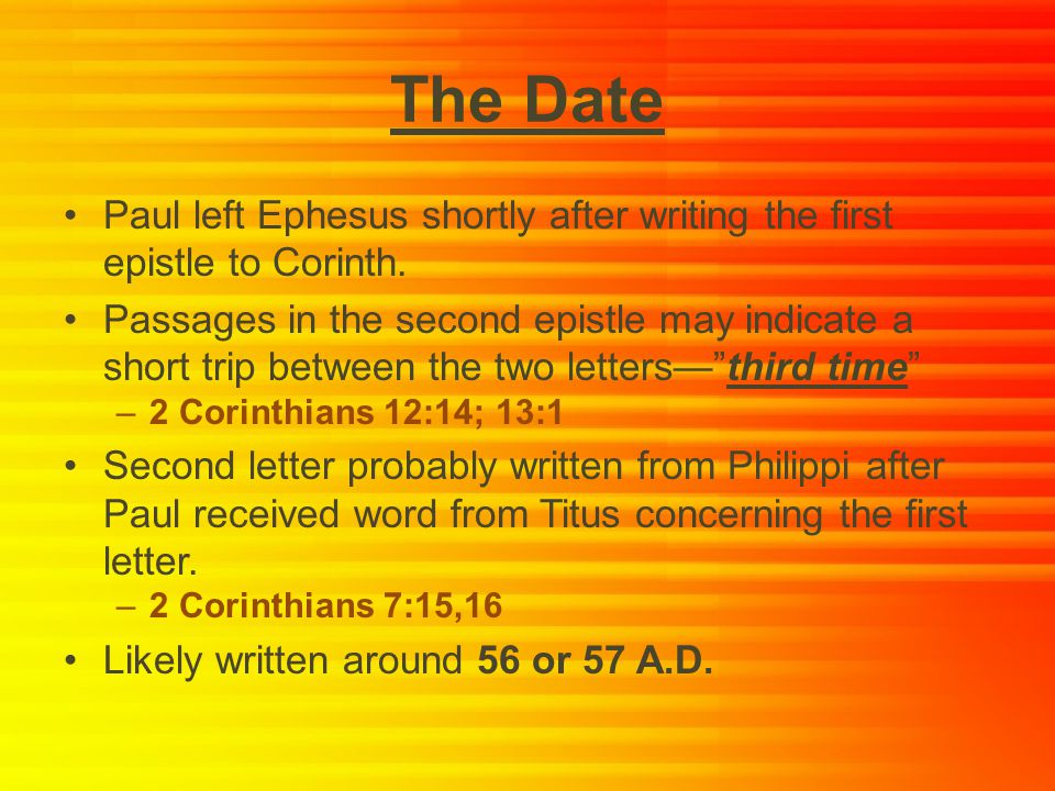 """dating pauls letters What can we reliably know about paul and how can we know it as is the case with jesus, this is not an easy question historians have been involved in what has been called the """"quest for the historical jesus"""" for the past one hundred and seventy-five years, evaluating and sifting through our sources, trying to determine what we can reliably ."""