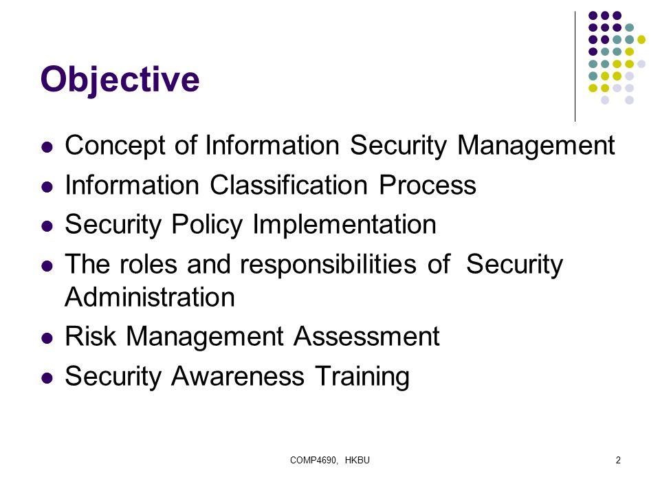 security awareness policy Information security awareness program thomas r peltier, cissp policy, procedures 38 information systems security wwwinfosectodaycom.