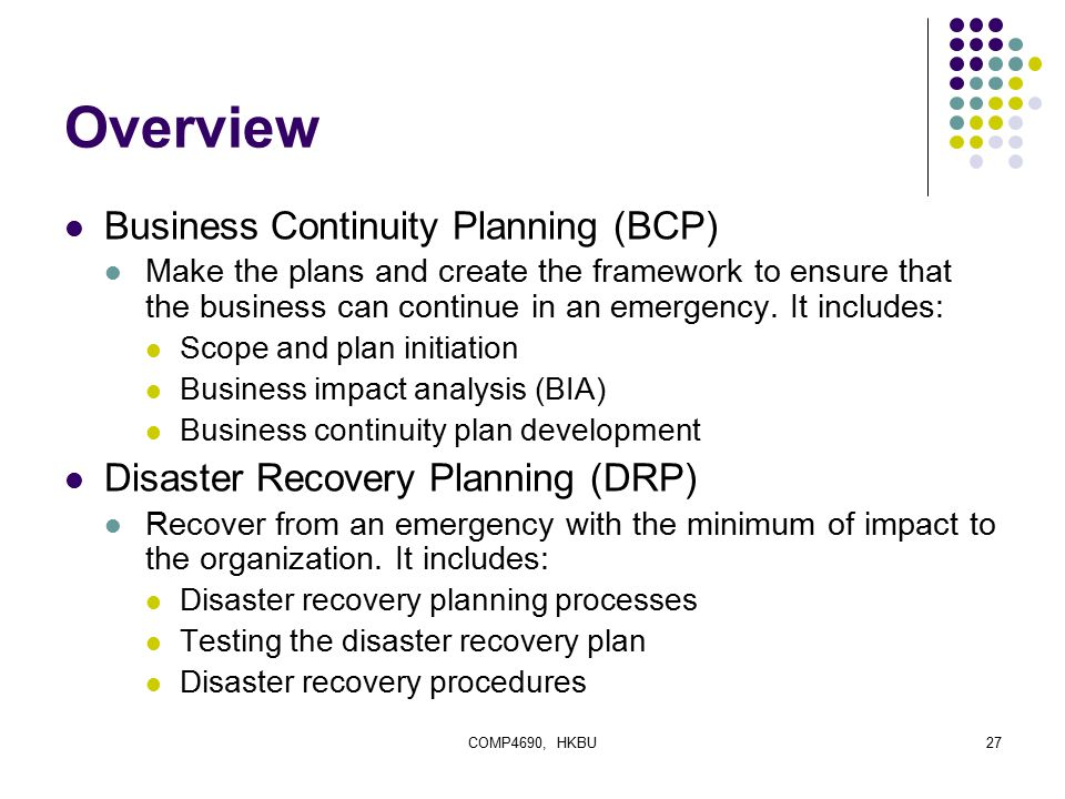 Business Continuity Planning (BCP) - Investopedia