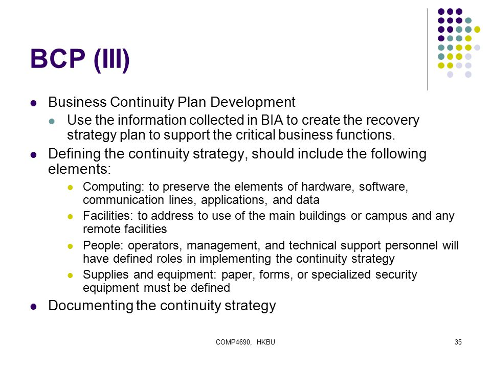 BCP Builder - Business Continuity Plan Maintenance