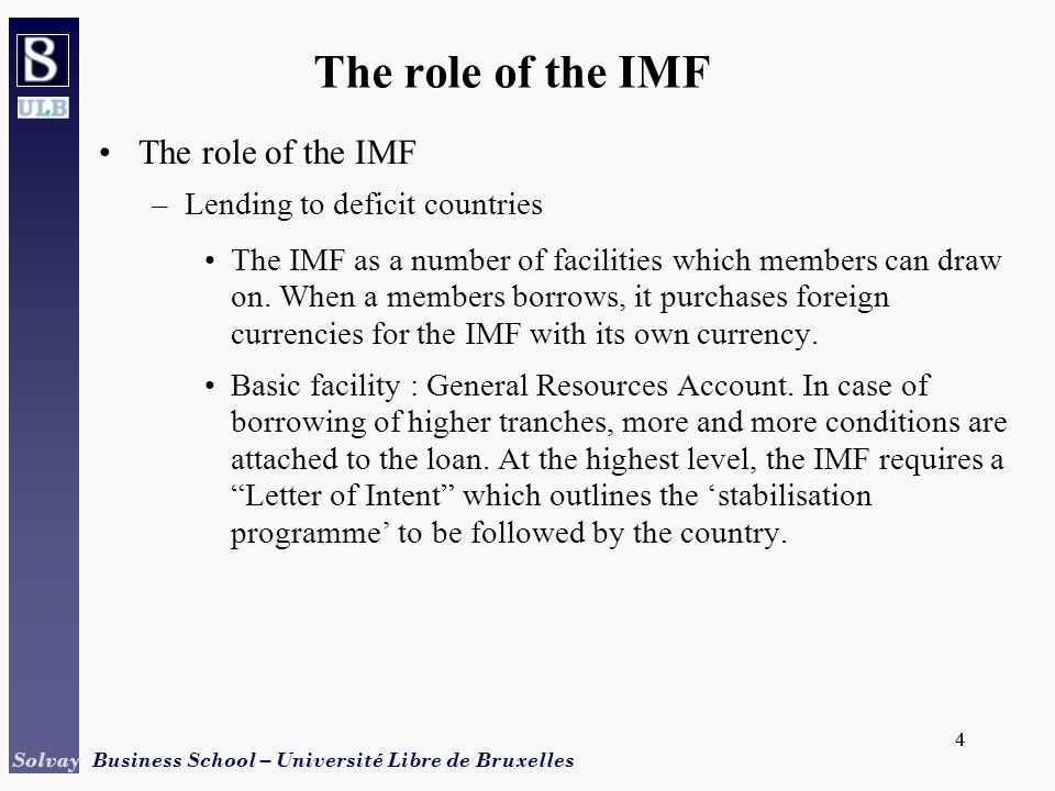 And the provision of finance ppt download the role of the imf the role of the imf lending to deficit countries spiritdancerdesigns Image collections