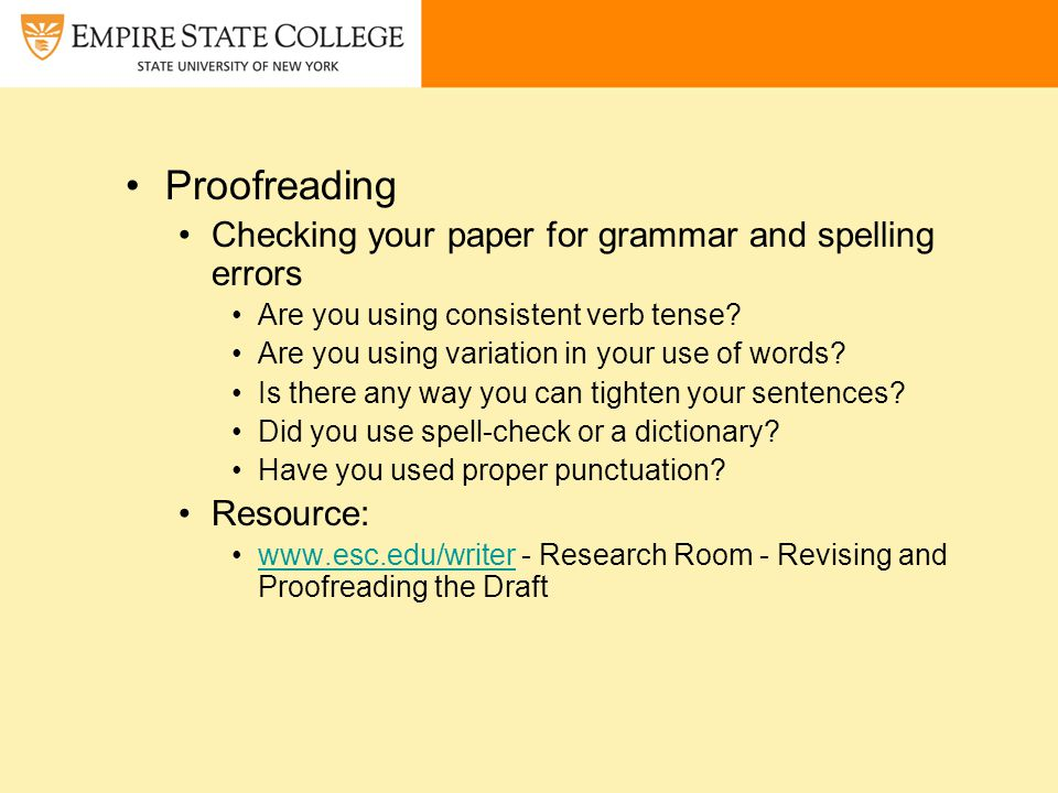 Grammar check research papers
