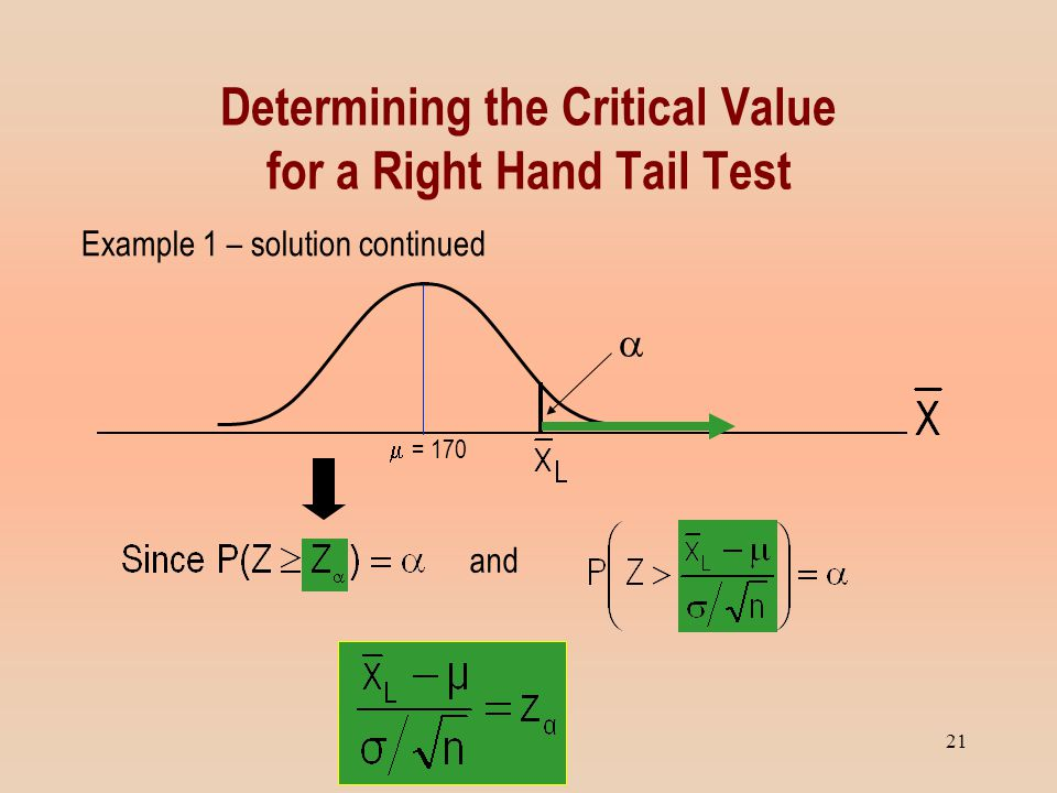how to find the critical value in a hypothesis test