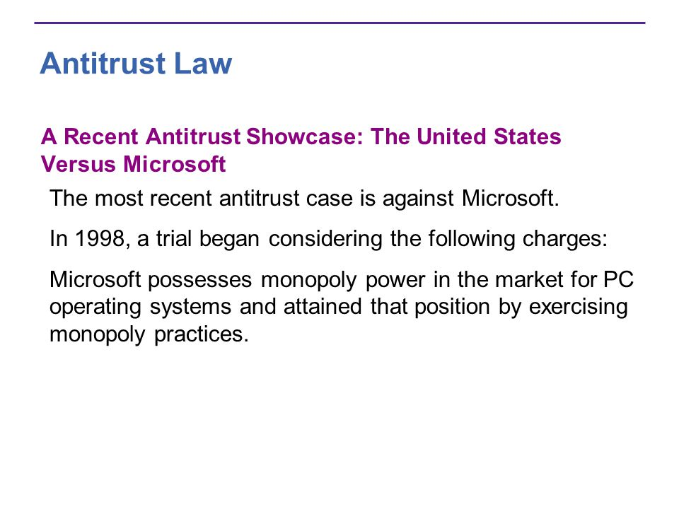 the antitrust case against microsoft Judge jackson's findings of fact in november gave plaintiffs' lawyers who were pursuing private suits against microsoft useful ammunition for their cases but the findings had only an ambiguous legal standing without the conclusions of law, entered today.