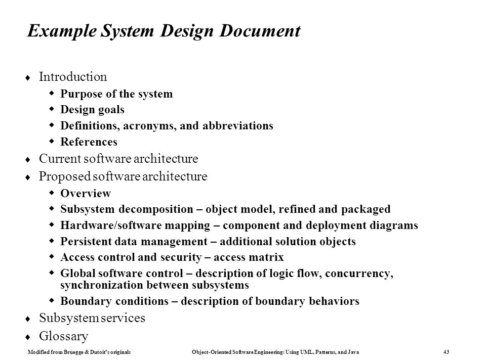 Pretty Java Design Doent Template Pictures Resume Templates - System design document template
