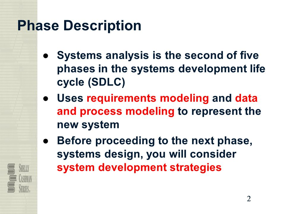 system modeling requirement analysis Content the aim of this unit is to develop students' skill and provide training  essential for information systems development through the application of.