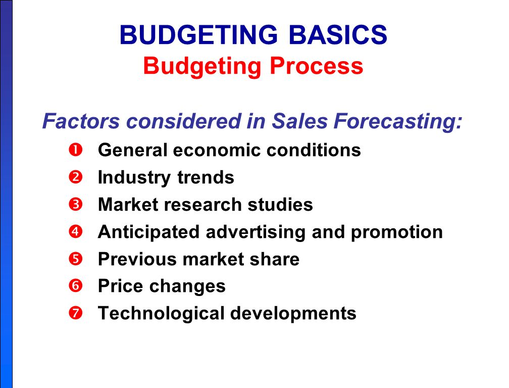 budgeting planning and control pdf