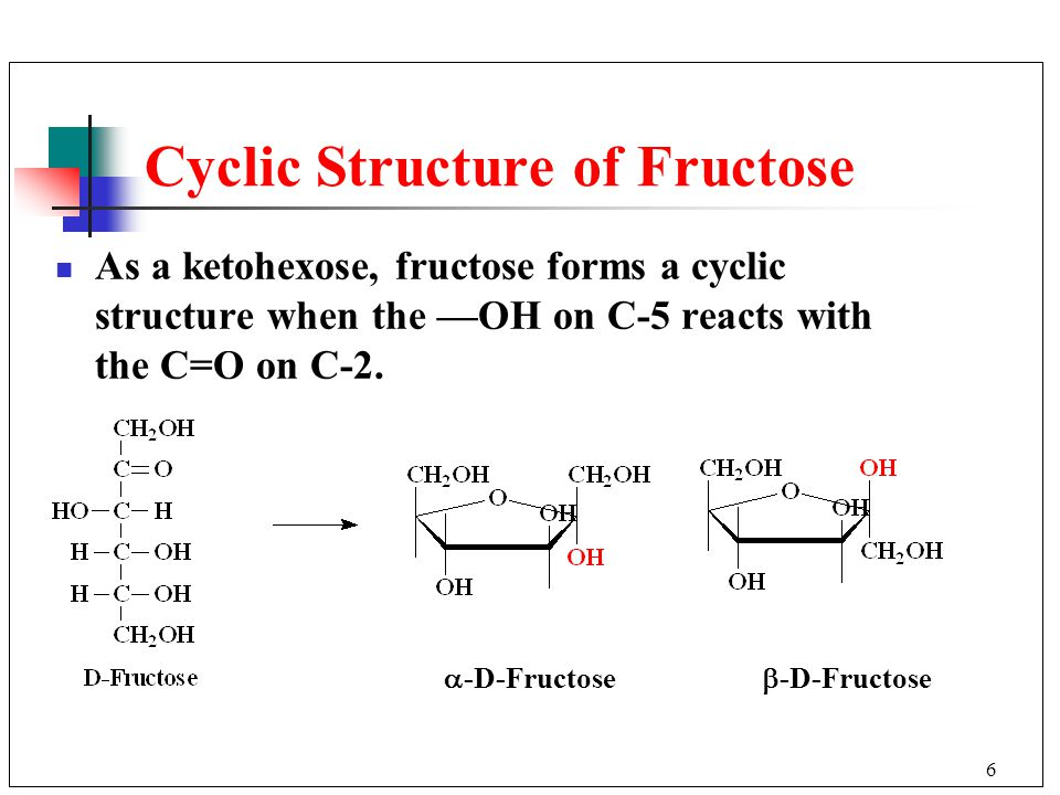 D Fructose Structure Chapter 16 Carbohydrat...