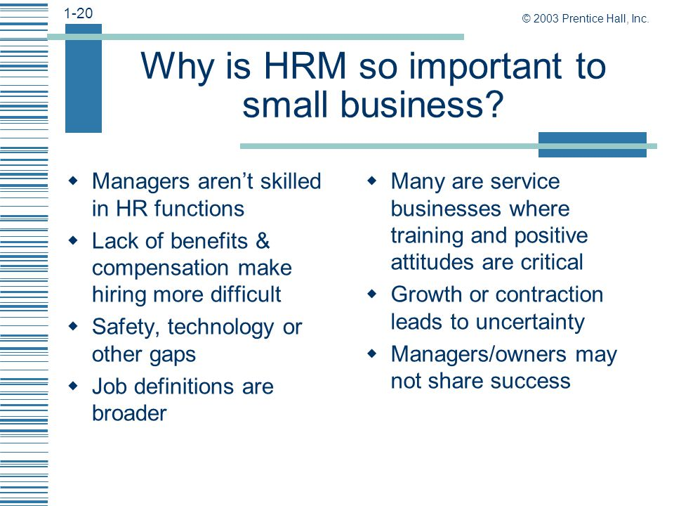 hrm in small organizations Human resource management in growing small firms  smaller organizations prefer  applicability of more formalized large-firm models of hrm in small.