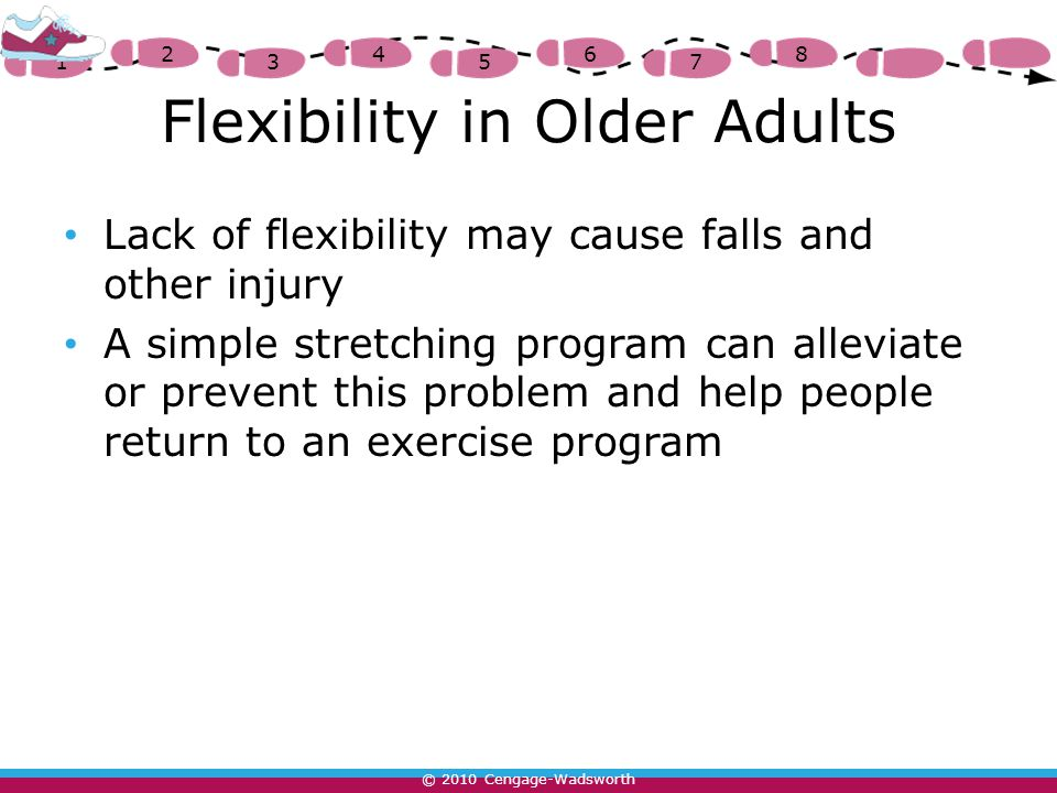 the lack of exercise among senior The percentage of overweight adults age 20 and over in america is 64% 325,000 deaths occur each year because of obesity and lack of exercise because of lack of exercise serious health issues can occur in the individual's body.