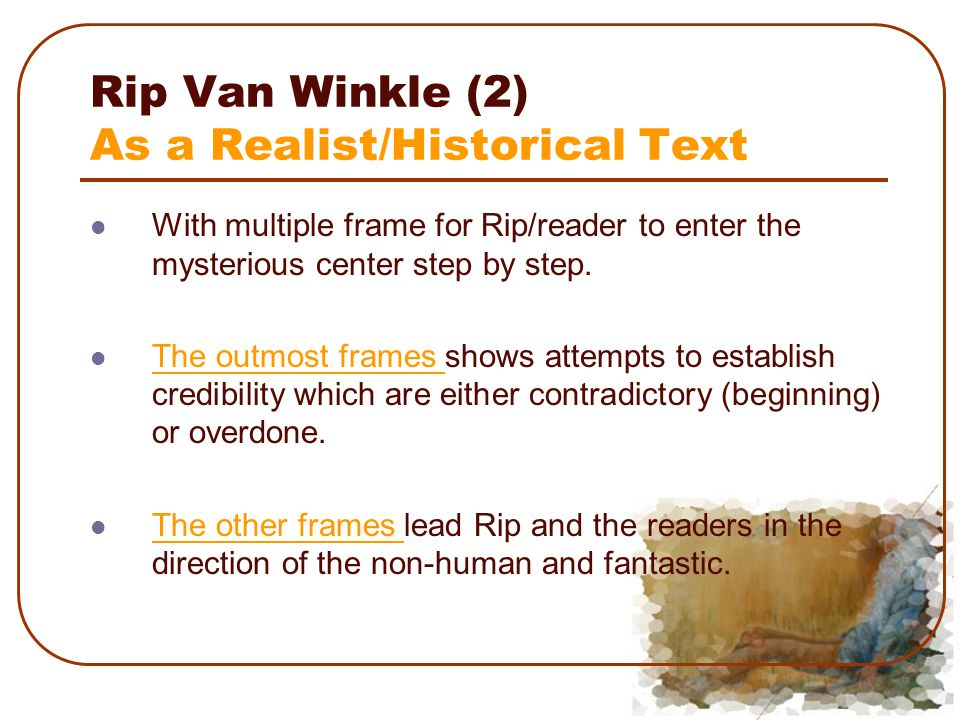 rip van winkle essay title I read the original rip van winkle by washington irving and a retold by compare and contrast essay rip van winkle title page of the book the sketch.