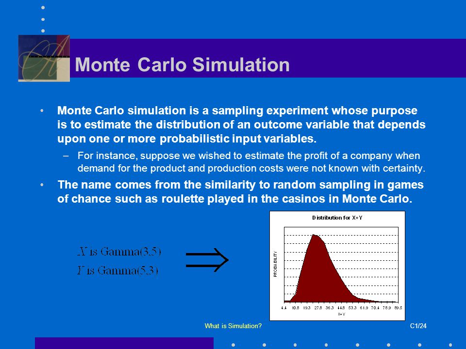 Chapter  What Is Simulation  Ppt Download