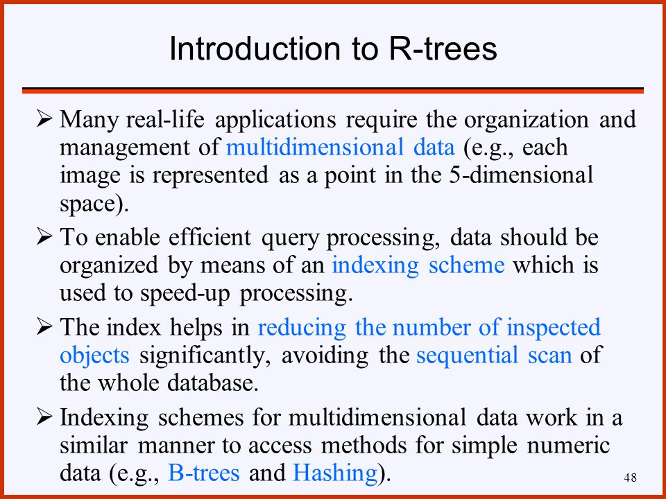 spatial database systems and management of multidimensional discrete data Abstract spatial database management involves two main categories of data: vector and raster data the former has received a lot of in-depth investigation the latter still lacks a sound framework current dbmss either regard raster data as pure byte sequences where the dbms has no knowledge about .