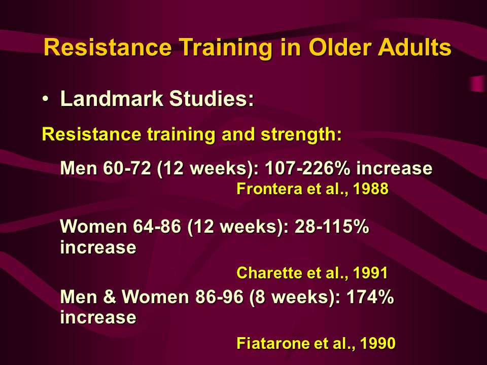Effect of Strength and Power Training on Physical Function ...