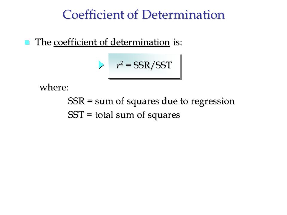 coefficient of determination r2 pdf
