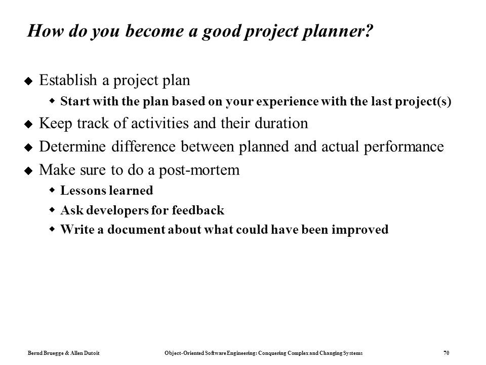 what to do a project on