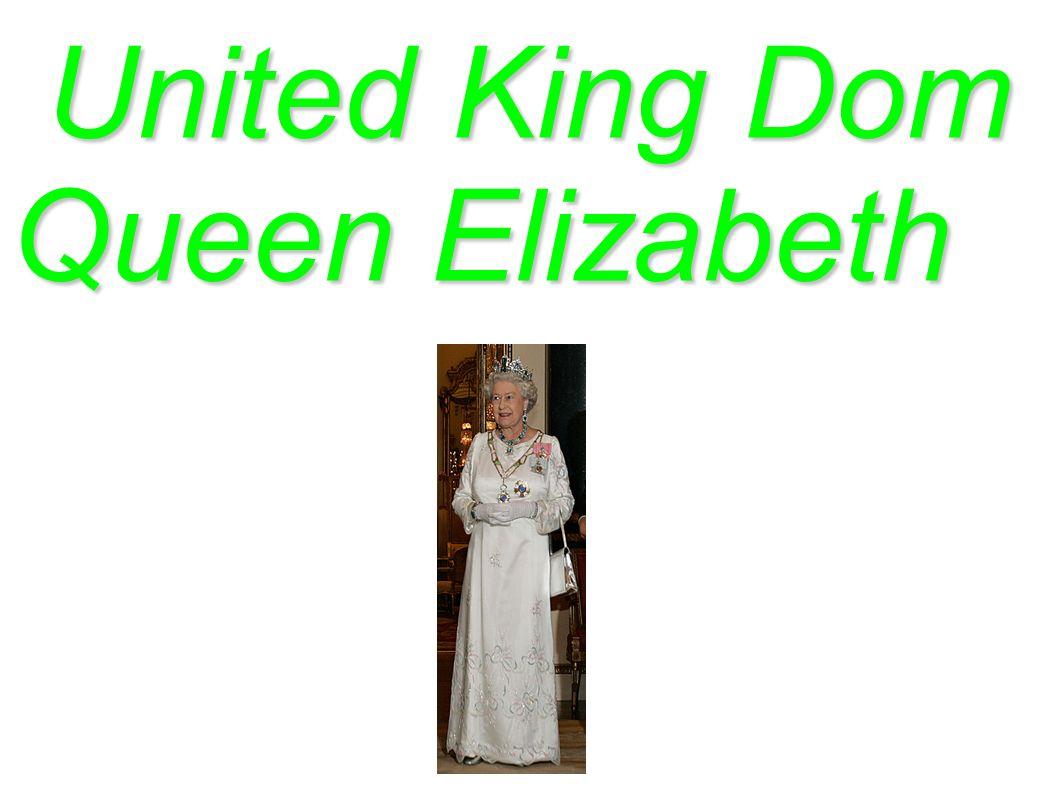 United King Dom Queen Elizabeth