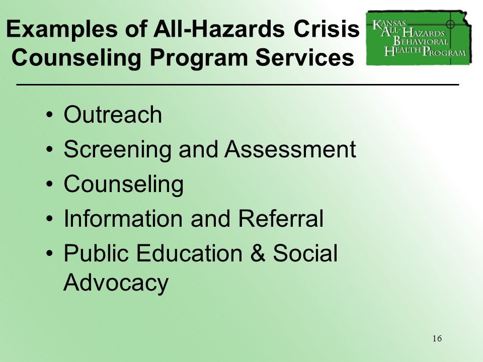 Counseling Services and Student Advocacy