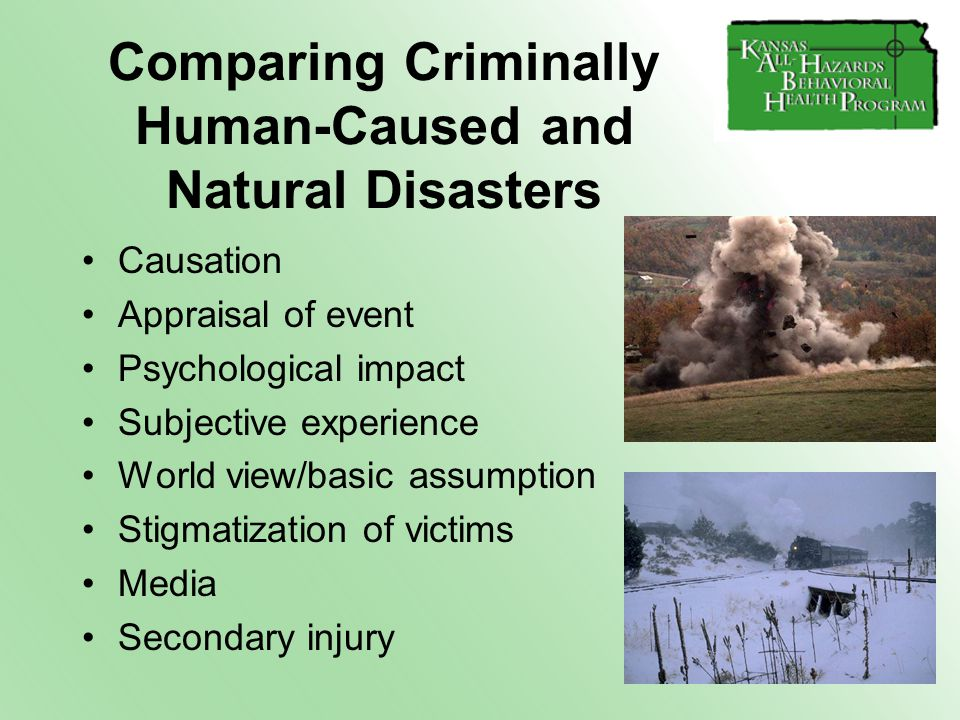 "natural disasters impact on human life Assignment on –""natural disaster, its causes & effects  of natural and human  lessen the impact that natural disasters have on."