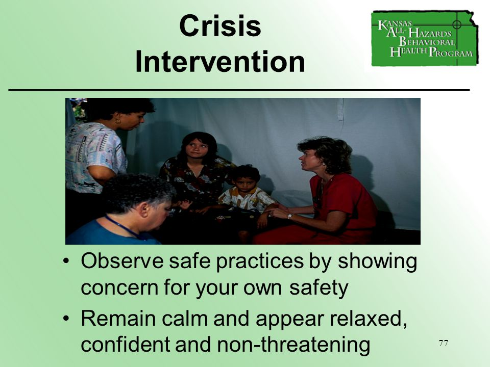 how to become a crisis intervention specialist