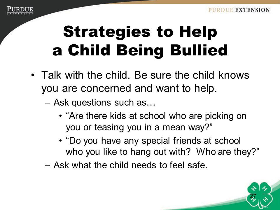 how to help kids being bullied about being short